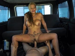 45 y/o MILF burning down the van