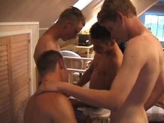 Nipple Biting Sex Orgy