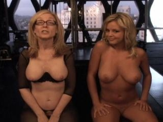 Nina Hartley have fun with Bree Olson