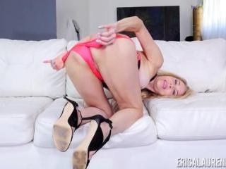 Erica Lauren Hot MILF Masturbation