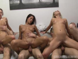 Real Swingers Home Orgy Caught on Camera