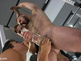 Hairy Hunk Shay Stone Gets Bound, Tickled, and Edg