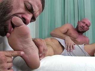 Killian Worshiped & Foot Fucked - Killian