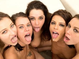 Orgy Masters Sex Party, Their Tongues Are Out, The