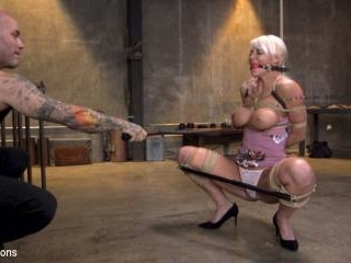 Pain Slut MILF London River Brutalized with Rough