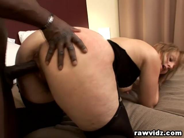 image Trisha rey redhead vs black stud