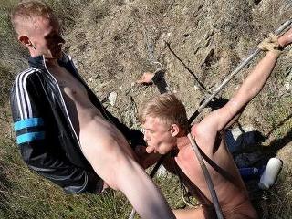 Chris Gets A Chav Cum Load - Chris Jansen & Ashton
