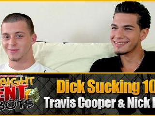 Dick Sucking 101: Travis Cooper & Nick Kush