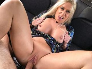 Squirting Blonde Fingered & Fucked