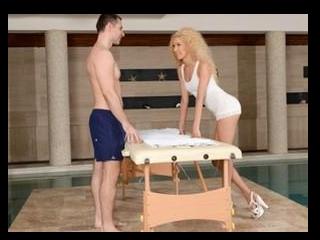 Poolside Full-Body Massage