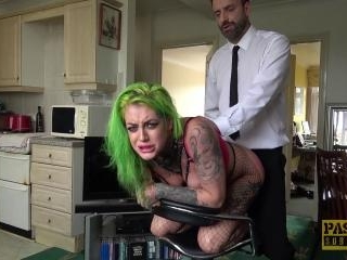 Tattooed slut gets destroyed by Pascal