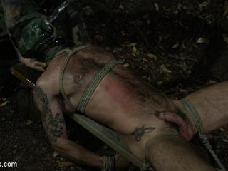 Wild Country: Hiker is Kidnapped, Bound, Fucked by