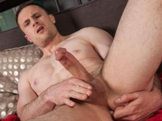 Jonn Lundgren gets naked and fingers his hole
