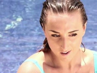 Stacey Poole - Blue Tie Pool 1