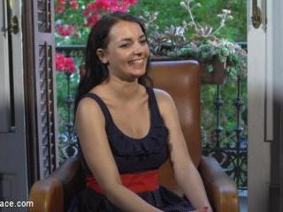 Buxom Brunette Sophia Laure Belittled in Barcelona