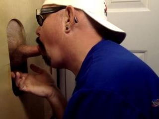 Lunch Break Gloryhole Cock Servicing