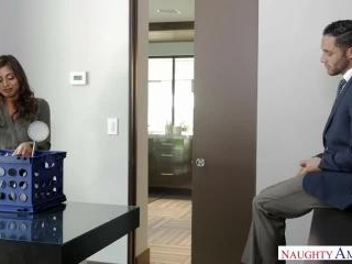 Naughty Office - Ella Knox & Damon Dice