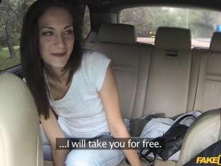 Passenger Wants Driver's Big Cock