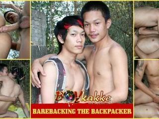 Barebacking the Backpacker