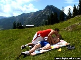 Constantin\'s Outdoors Fuck With Mark