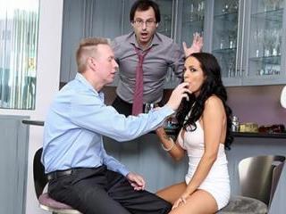 Sofi Ryan Cannot Pleasure Her So She Seduces His F
