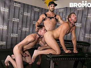 The Steam Room Part 2 - TRAILER- Jaxton Wheeler -