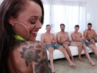 Gangbanged #09 - Holly Hendrix