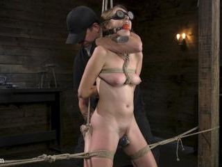 All Natural Cadence Lux Torment in Rope Bondage an