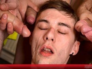 Breath Control Blowjob, Bare Fucking and Cum Showe