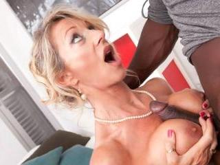 MILF Marina Beaulieu Tastes her First Big Black Co