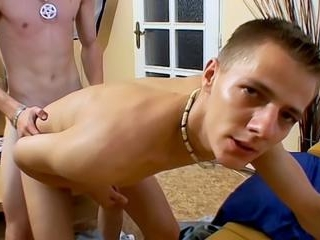 Bareback Boys Get Sticky! - Leo Gratton And Tobey