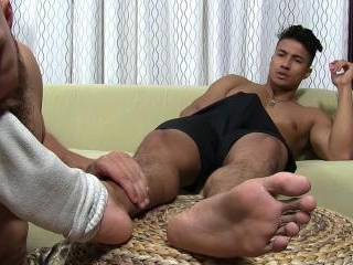 Ken\'s Feet & Socks Worshiped - Ken