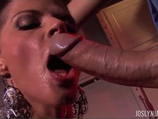 Joslyn James Cock Slurping POV Blow Job