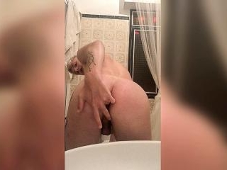 Wanking In The Bathroom With Teddy - Teddy Lane