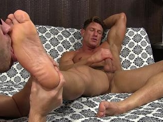 Bryce\'s Perfect Feet Worshiped - Bryce