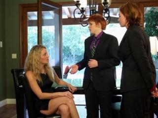 Lily Cade,  Daisy Lane and  Jodi Taylor in
