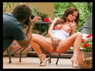 Striptease In The Garden