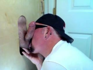 TGIF Gloryhole Cock Sucking and Cum Swallow