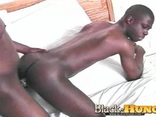 Blake Fucks Big Black Cock
