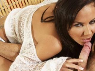 Slutty Brunette, Natalie, Takes on Two Massive Coc