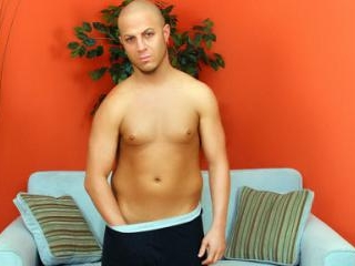 Bald headed cam model stripping