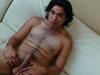 hairy uncut Latino
