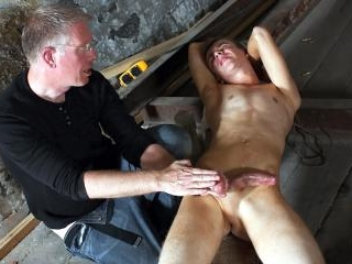 Wanked to a cum load by the master - Chad Chambers