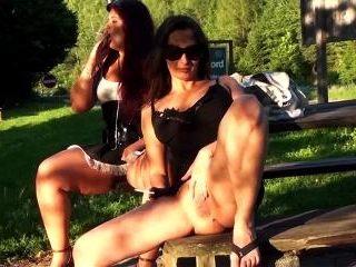 Pussies in the park