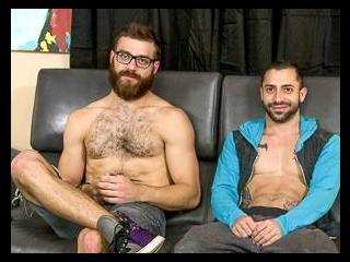Tommy Defendi & Nick Cross - Backstage